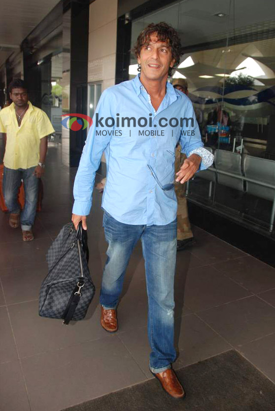 Chunky Pandey Back From IIFA