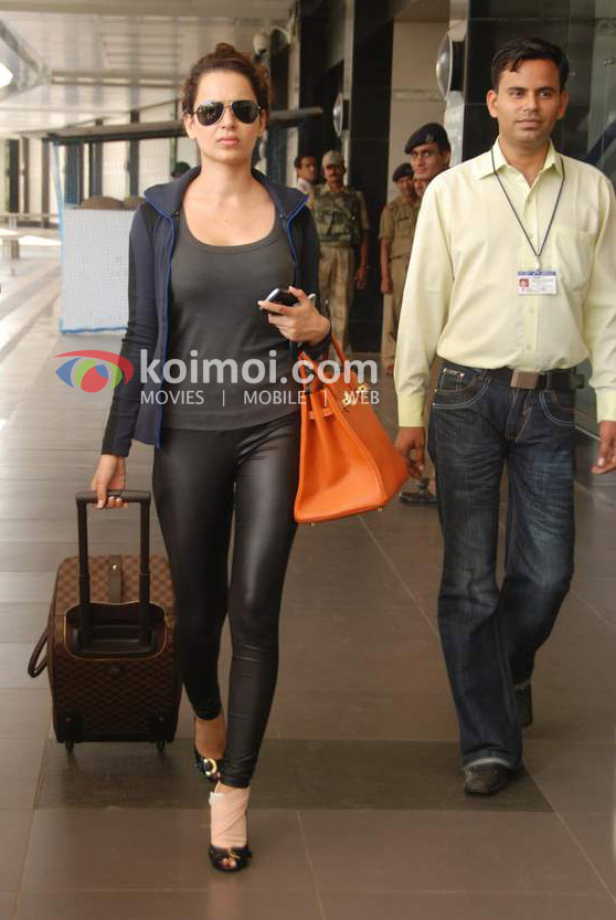 Kangana Ranaut Back From IIFA