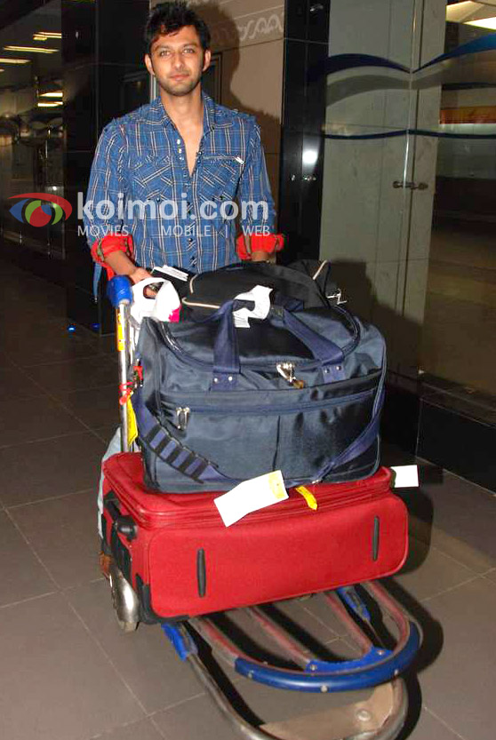 Vatsal Seth Back From IIFA