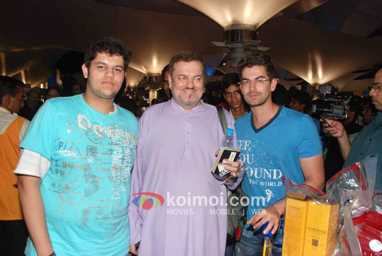 Neil Nitin Mukesh Back From IIFA