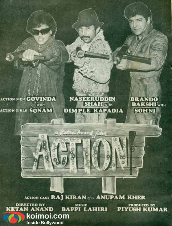 'Action' Movie Poster