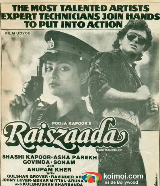 'Raiszaada' Movie Poster