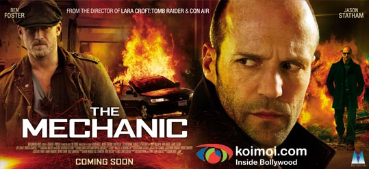 Ben Foster, Jason Statham (The Mechanic Movie Wallpaper)
