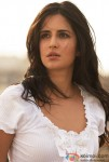 A rather tensed Katrina Kaif
