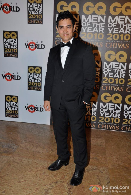 Aamir Khan At GQ Men Awards 2010 Event