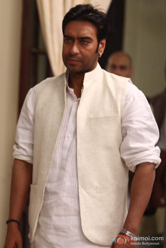 Ajay Devgan in Raajneeti Movie