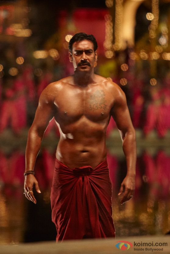Ajay Devgan in Singham Movie