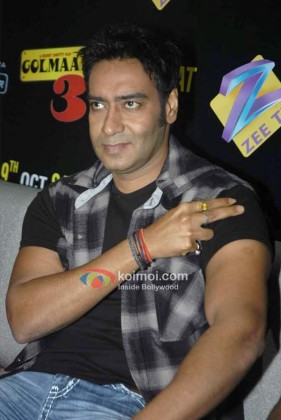 Ajay Devgan Promote 'Golmaal 3' Movie