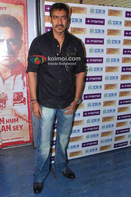 Ajay Devgan At 'Boond' Movie Special Screening