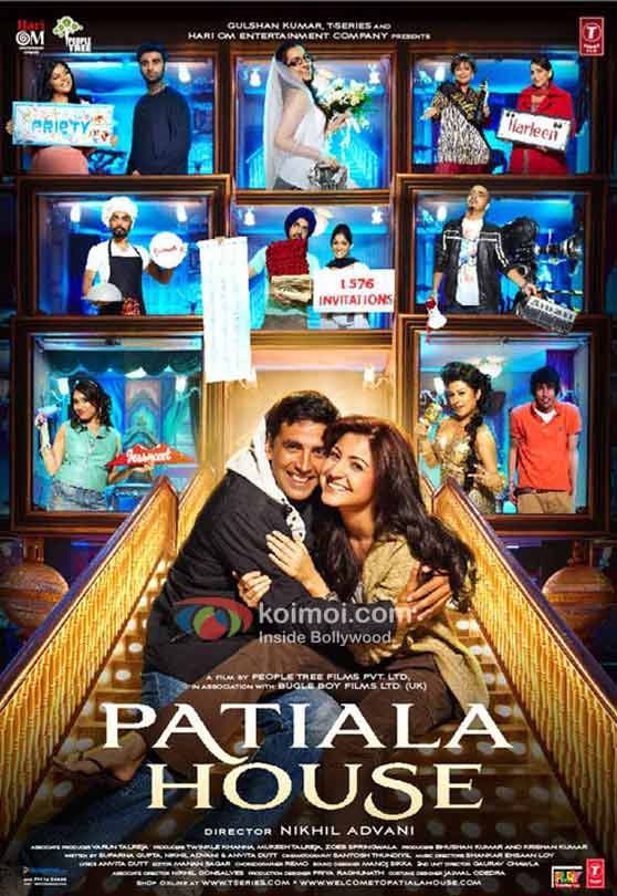 Akshay Kumar, Anushka Sharma (Patiala House Movie Poster)