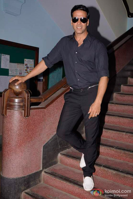 Akshay Kumar Promote 'Desi Boyz' Movie