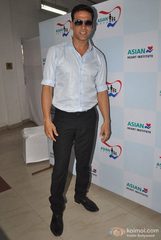 Akshay Kumar At Asian Heart Institute CSR Initiative Launch Event