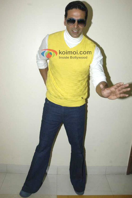 Akshay Kumar At 'Entertainment Ke Liye Kuch Bhi Karega' Show Grand Finale