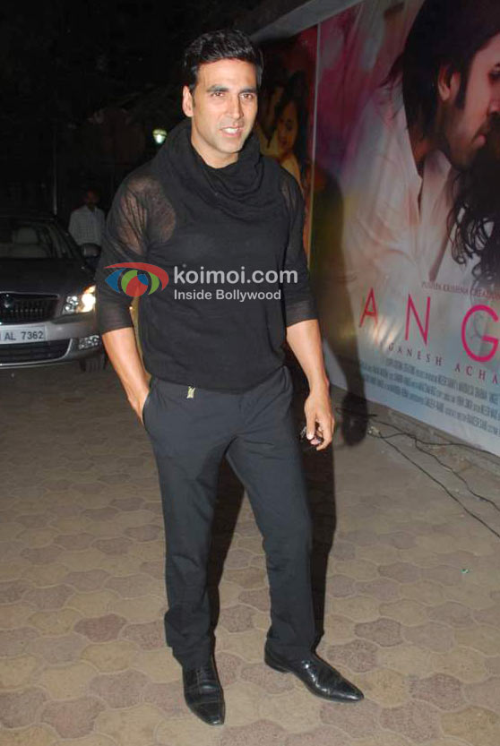 Akshay Kumar At 'Angel' Movie Music Launch Event