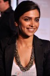 Deepika Padukone Flashes A Smile