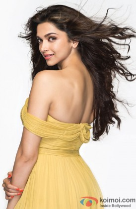 Deepika radiantly poses for the camera