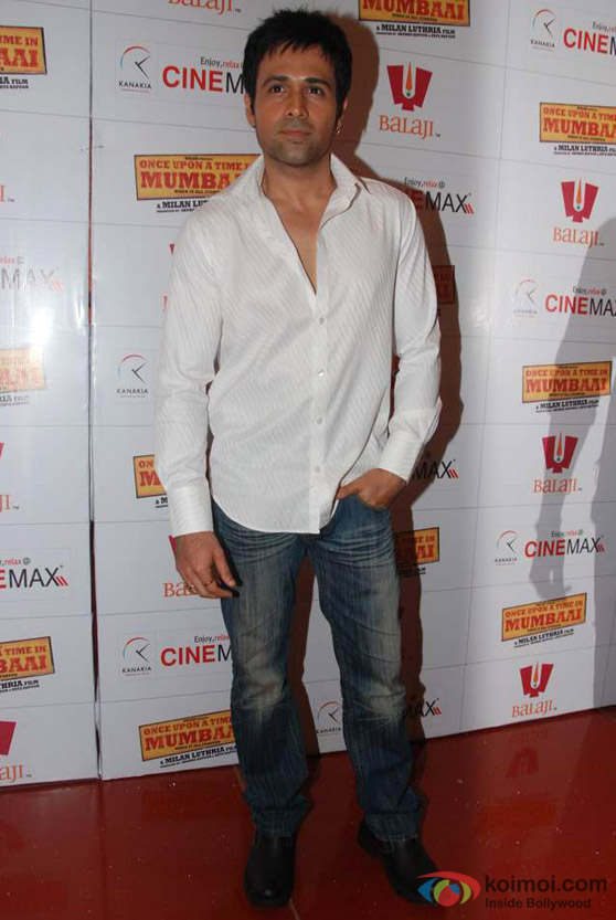Emraan Hashmi Promote 'Once Upn A Time In Mumbaai' Movie
