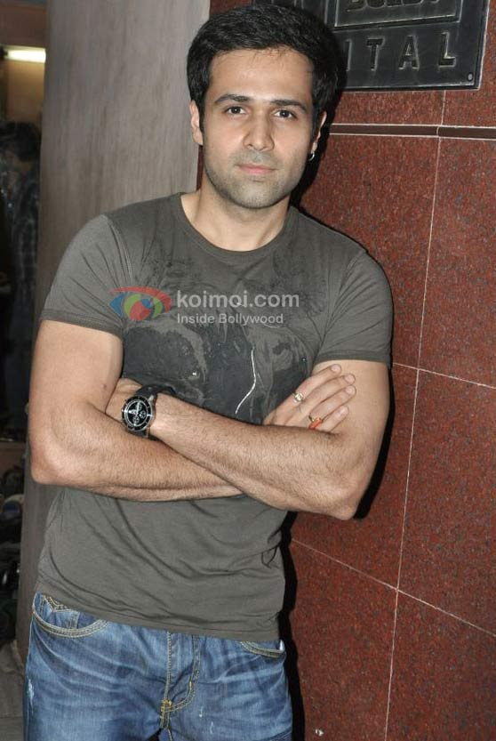 Emraan Hashmi At 'Once Upon A Time In Mumbaai' Movie Screening
