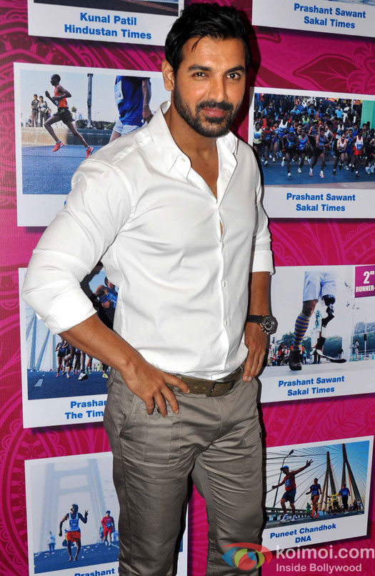 John Abraham At Standard Chartered Charity Awards Night 2013 Event