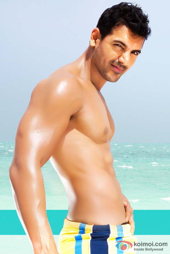 John Abraham in Dostana Movie