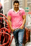 John Abraham in pink in New York Movie