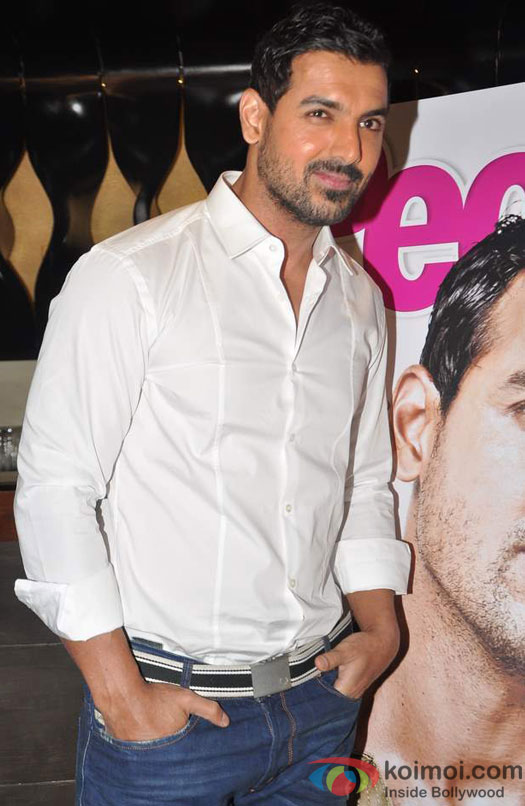 John Abraham Launches People Magazine's Special Issue