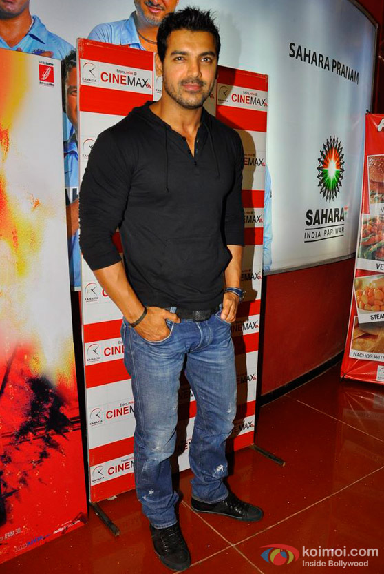 John Abraham At 'Pankh' Movie Premiere
