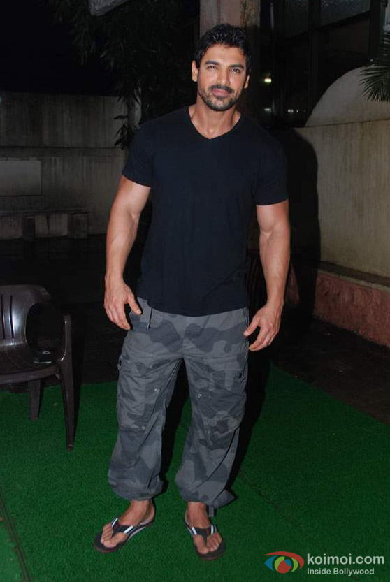 John Abraham in black