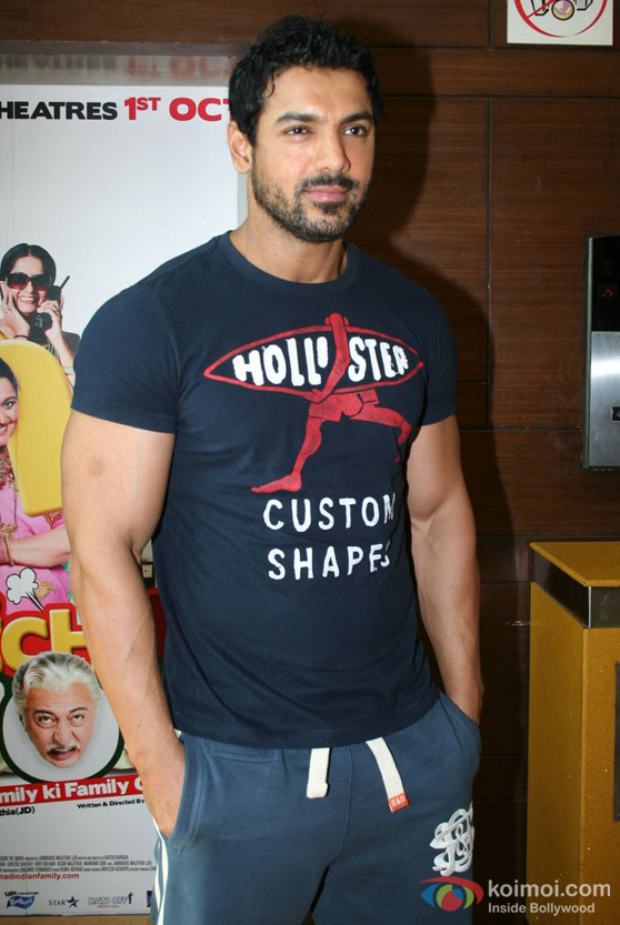 John Abraham Promote 'Jhootha Hi Sahi' Movie
