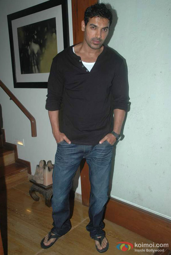 John Abraham At Sanjay Gupta's 'Shootout At Wadala' Party