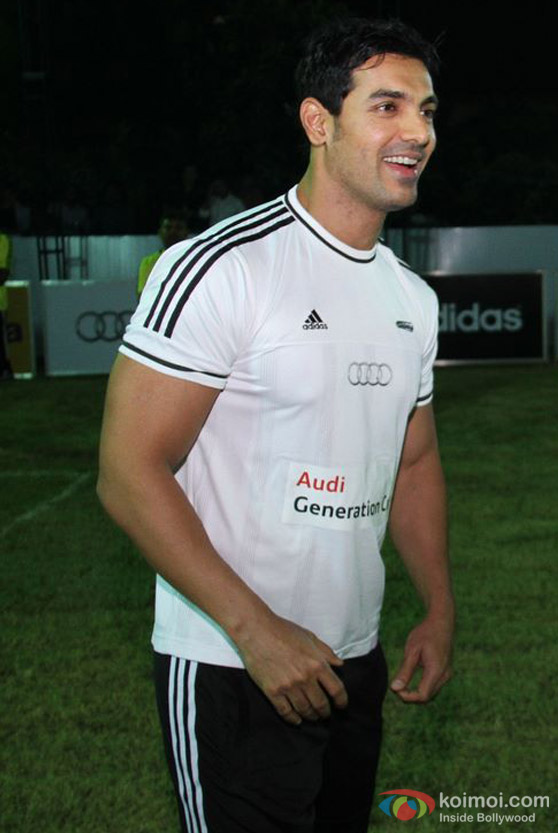 John Abraham At Audi Generation Cup
