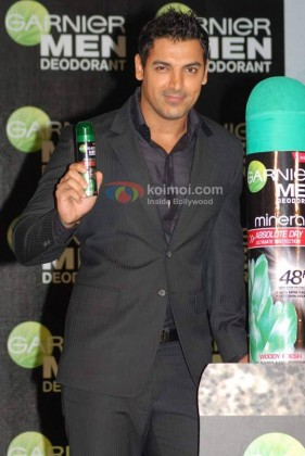 John Abraham At Garnier Men Deodorant Launch Event