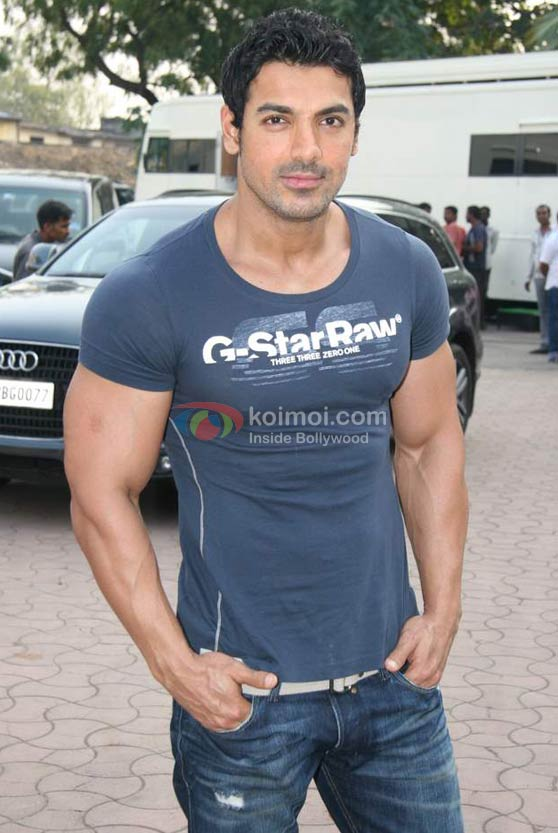 John Abraham all bulked up