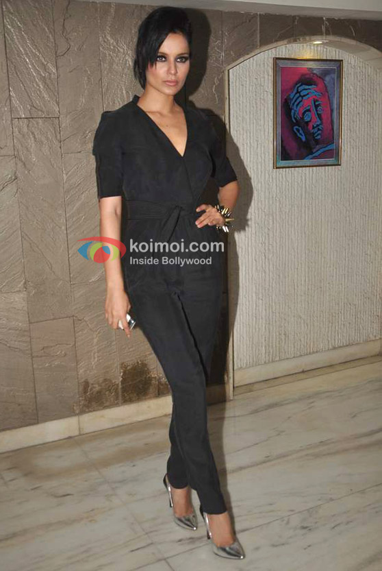 Kangana Ranaut At Arjun Rampal's Birthday Bash Event