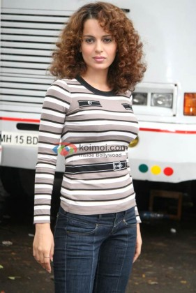 Kangana Ranaut At 'Boogie Woogie' TV Show