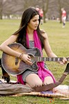 Katrina Kaif strums the guitar in her Yash Chopra film