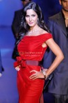 Katrina Kaif Ramp Walk In Red Hot Dress