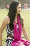 Katrina Kaif in a striped dress in her Yash Chopra film