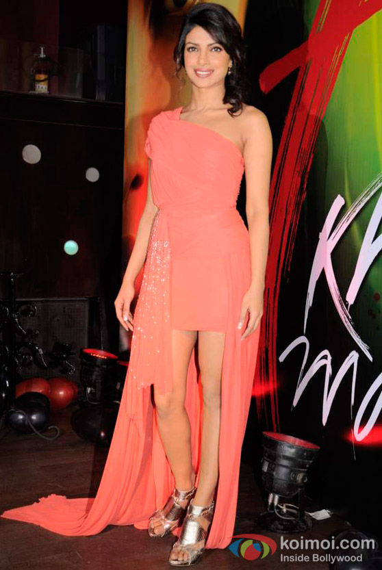 Priyanka Chopra At '7 Khoon Maaf' Movie Promotion