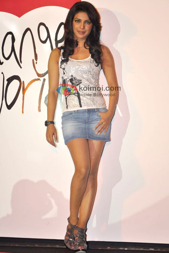 Priyanka Chopra At Levi's Jeans Change Your World Campaign Event