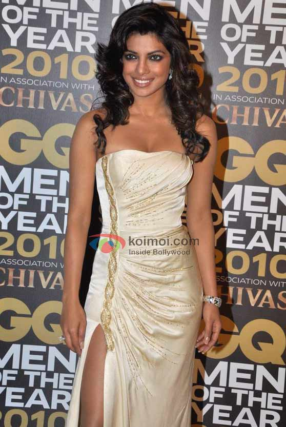 Priyanka Chopra At GQ Men Awards 2010 Event