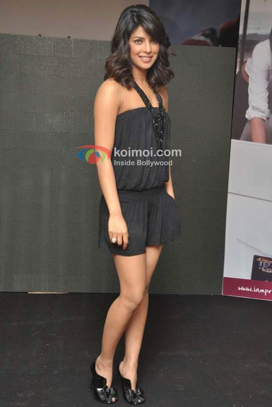 Priyanka Chopra's Official Website Launch Event