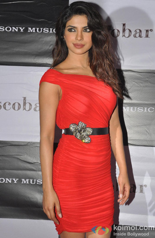 Priyanka Chopra at Babli Badmaash Song Launch