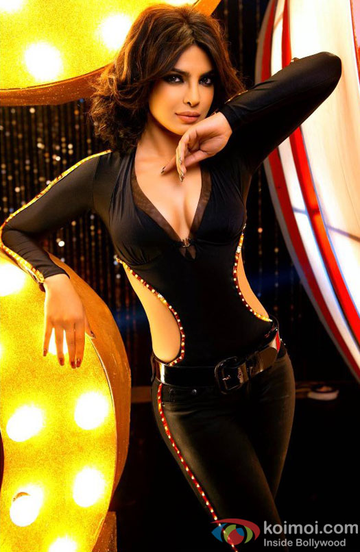 Priyanka Chopra in a still from Babli Badmash Hai item number