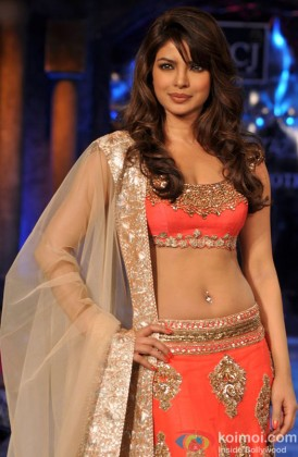 Priyanka Chopra walks the ramp at Shabana Azmi's NGO Mijwan Welfare Society