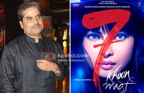 Vishal Bhardwaj, 7 Khoon Maaf (Saat Khoon Maaf) Movie Poster