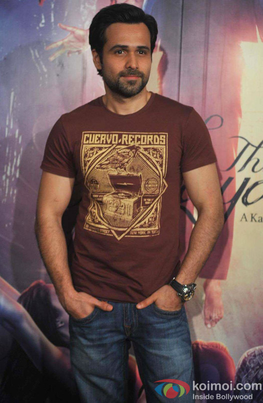 Emraan Hashmi at press meet of film Ek Thi Daayan