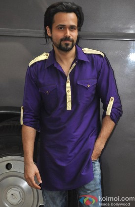 Emraan Hashmi on location shoot of film Ghanchakkar