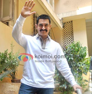 Aamir Khan Vacationing In Panchgani