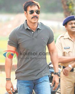Ajay Devgan's Singham Gets Rs. 18 Crore For Television Rights (Singham Movie Stills)
